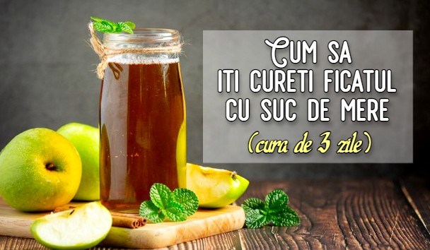 detoxifiere cu suc de mere există dureri cauzate de negi genitale